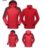 Chaqueta 3 en 1 Mens Escalada Deportes Camping anorak chaqueta exterior