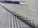 Tessuto tinto dell'assegno tinto spazio del filo di cotone per Shirt-Lz6379
