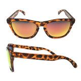Vintage Овальный PC рамы очки УФ400 солнцезащитных очков объектива наружного зеркала заднего вида