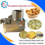 Piccolo lavaggio domestico della patata di uso & sbucciatrice