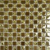 Baldosas de cerámica de gran diámetro satinadora de vacío de oro
