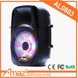 옥외 Karaoke/를 위한 좋은 품질 & 가격 판매 전세계에 휴대용 Bluetooth 트롤리 스피커