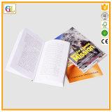 熱い販売のフルカラーの薄紙表紙の本の印刷