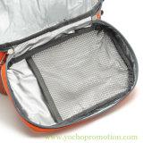 600d водоустойчивые изолируют мешок охладителя пикника с наружными сетчатыми карманн