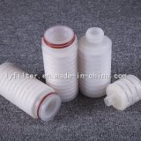 Flosse-Endstöpsel Wasser-Filtereinsatz 0.2 Mikron-mikroporöser gefalteter pp.