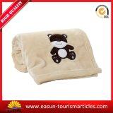 暖かく柔らかい小型子供の珊瑚の羊毛毛布