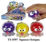 Nuevo Squeezy caliente Net Rana de juguete bola