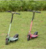 Mini scooter de aluminio con motor de 400 vatios