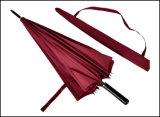 ブランドデザインまっすぐな傘の卸売の木のハンドル