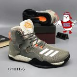 Nam 7 Primeknit Verhoging VII de Nieuwe Volt Aq7215 van de Basketbalschoenen van Drose Mens toe