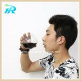 Vidro de vinho plástico personalizado 18 onças, Tumbler do vinho