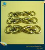 핸드백 금속 로고 합금 격판덮개를 위한 주문을 받아서 만들어진 장식적인 금속 레이블