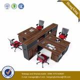 木のオフィス用家具のアルミニウム構造4のシートワークステーション(HX-TN237)