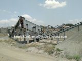 frantoio del complesso della pietra del fiume 120tph ed impianto di frantumazione con il lavaggio della sabbia