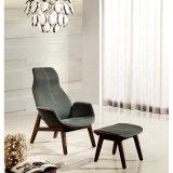 Cadeira do lazer da sala de visitas/cadeira moderna italiana da sala de estar (KR07)