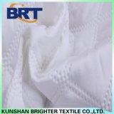 Cubierta de colchón impermeable del alambre de la tela escocesa de la pongis doble del poliester