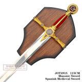 Le spade medioevali della decorazione delle spade delle spade di crociate 115cm Jot4915