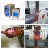 携帯用誘導加熱装置の銅管の溶接のろう付け