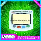 Мембранной клавиатуры панели графического наложения с помощью защитной пленки
