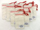 Cadeau de cordon de coton/poche personnalisés en verre (CCD-D46)