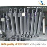 Doubles cylindres télescopiques hydrauliques temporaires de cylindre pour la grue mobile/camion à benne basculante/remorque