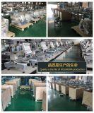 2ヘッドFlat+Cap+Finishedのチェーンステッチの刺繍機械Ho1502自動商業デジタル国内中国2二重ヘッドによってコンピュータ化される帽子の刺繍機械