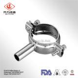 3A de sanitaire Roestvrij staal Aangepaste Houder van de Pijp van de Prijs van het Ontwerp Concurrerende met Pijp voor het Bevestigen