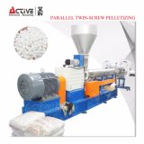 Plastik-PET pp. +CaCO3 Einfüllstutzen Masterbatch, das Extruder-Pelletisierung-Zeile zusammensetzt