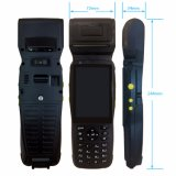 Explorador Handheld androide PDA del código de barras con la impresora térmica del recibo de 58m m
