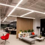Indicatore luminoso lineare personalizzabile e collegabile della camera di equilibrio del LED
