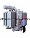 Transmissão de potência 35~110kv de alta tensão/da tensão transformador/110kv abaixadora da fornalha transformador da distribuição transformador de potência imergido petróleo de regulamento da potência