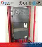 二重に加熱室の平らな強くなるガラス炉(TPG-2)