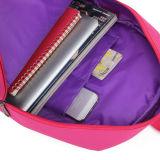 Zaino pieghevole del computer portatile del poliestere del banco del sacchetto sveglio delle ragazze degli adolescenti