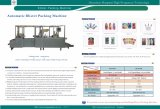 Automatische Blasen-Verpackmaschine für Belüftung-Karte