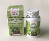 Gruner Kaffee Extrakt que Slimming comprimidos ervais da dieta da perda de peso da cápsula