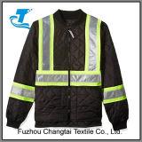 O trabalho dos homens Hi Vis Quilted jaqueta de segurança