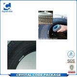 Escritura de la etiqueta adhesiva permanente de la etiqueta engomada de la vulcanización para el neumático auto
