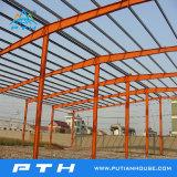 Construction galvanisée par coût bas préfabriqué de structure métallique