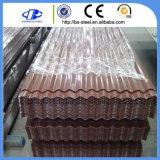 Folha de aço galvanizada Prepainted da telhadura da construção material de aço