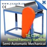 Жестяная коробка 0.25-5L сделанная портноем полуавтоматная малая круглая делая крен формируя машину