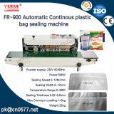 Macchina continua di sigillamento della fascia del sacchetto di plastica di Fr-900automatic per gli spuntini