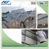 Panneau composé du panneau de mur de matériau de construction ENV pour l'entrepôt