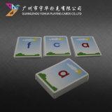 Cartes populaires de jeu de cartes éducatives faites sur commande