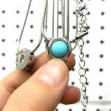 昇進のギフトの方法Siliverのネックレスのステンレス鋼の宝石類