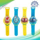 Mini Remote Control Car Reloj Pulsera juguetes de detección de alimentación RC Vehículo de juguete para niños