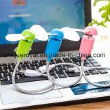Zwei Schaufel USB-Flexmini elektrischer Ventilator