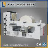 Billete de giro de 4 colores de la máquina de impresión flexográfica
