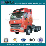 Sinotruck HOWO A7 290-420HP 6X4のトラクターのトラック