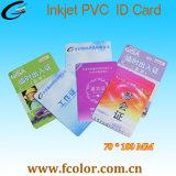 70*100mm para impressão a jato de tinta Cr100 cartão com chip para Revendedor Mundial