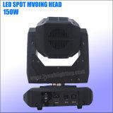 DMX DJ는 150 와트 당 단계 빛을 이동하는 맨 위 빛 LED 반점 때린다